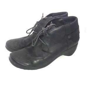 Merrell veranda leather bootie boot black 8.5